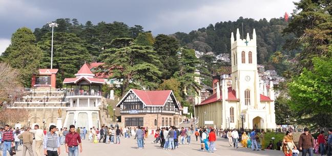 Shimla Naldehra Manali Tour