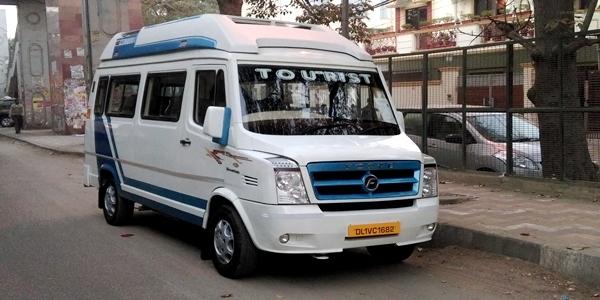 tempo traveller delhi