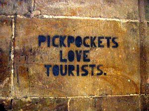 Travel Tips – Beware of Pick Pockets
