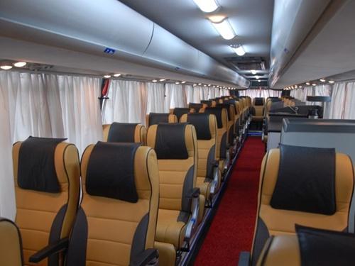 Luxury 35 Seater Volvo Coach Hire