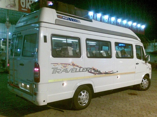 Book 11 seater tempo traveller for private holiday tour