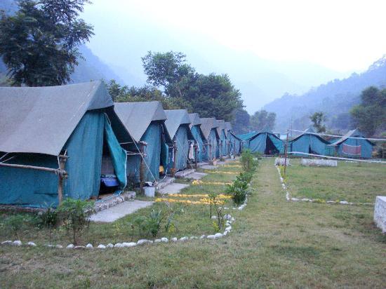 Rishikesh the hotspot camping destination