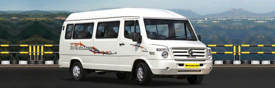 Book a 12 seater tempo traveler to Shimla