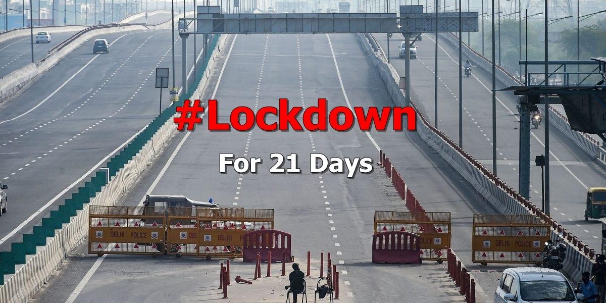 lockdown 21 days pic