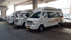 Comfortable Journey with Tempo Traveller