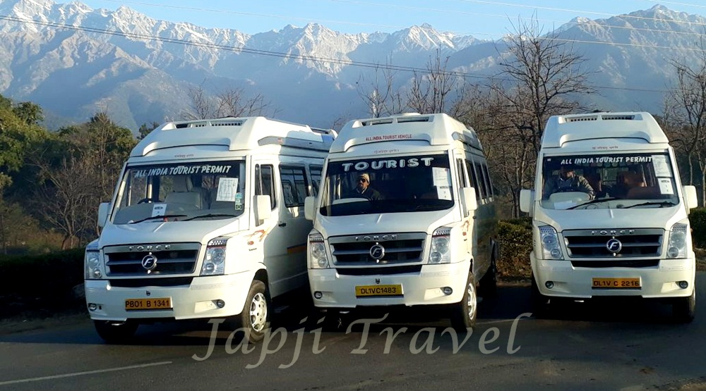 tempo traveller fleet