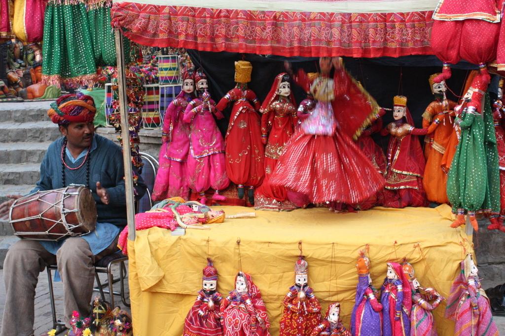 Puppet Show in Jaisalmer