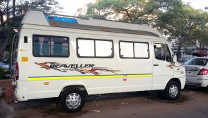 12 Seater Deluxe Tempo Traveller