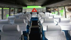 27 Seater Luxury Bus Pictures