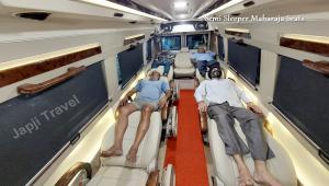 Semi Sleeper Maharaja Tempo Traveller