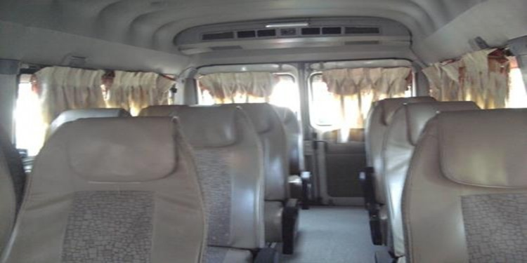 11 Seater Standard Tempo Traveller