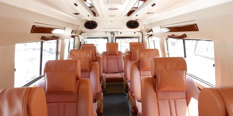 12 Seater Luxury Tempo Traveller