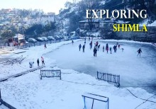 Chandigarh - Shimla - Manali trip