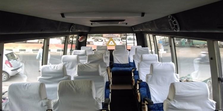Luxury 18 seater coach