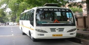 new 18 seater luxury bus delhi