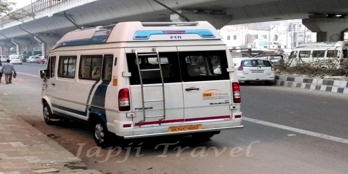 Delhi To Manali One Way Tempo Traveller
