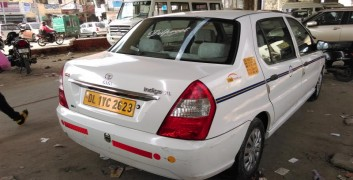 Tata indigo Taxi Picture