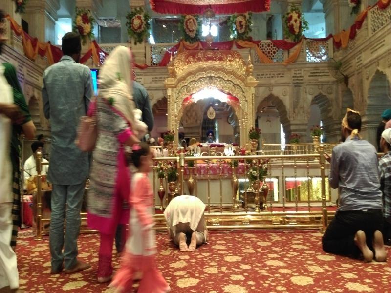 Gurdwara Sis Ganj Sahib in Old Delhi