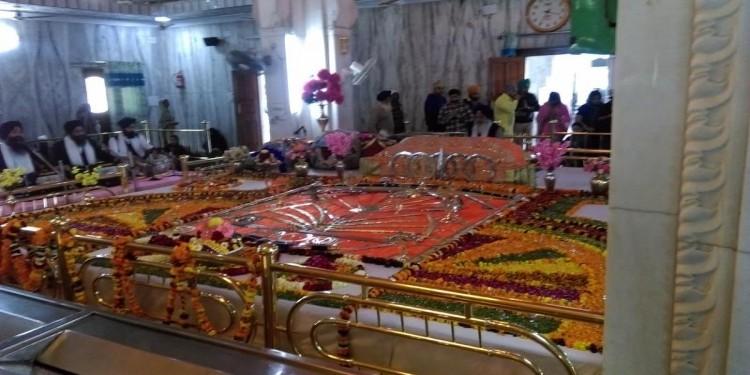 Gurdwara Dukh nivaran sahib inside
