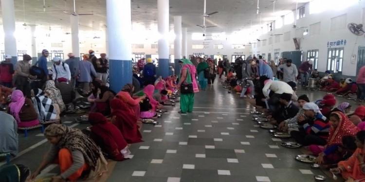 Langar Hall gurudwara dukh nivaran sahib