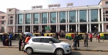 Railway station new delhi ajmeri gate