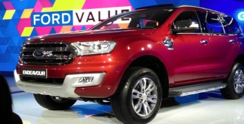 Ford endeavour new model