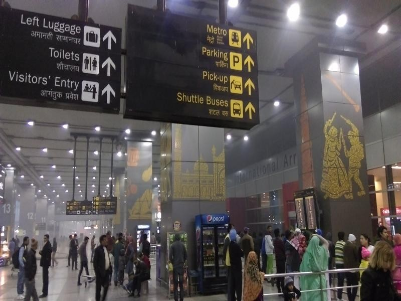Indira gandhi airport delhi