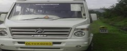 Our vehicle on trip to maharashtra