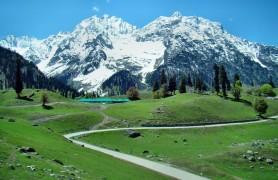 Sonamarg or Sonmarg, Jammu  And Kashmir, India