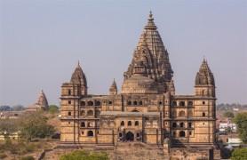The Chaturbhuj Temple Orchha