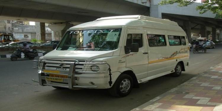 12 Seater Traveller For Haridwar