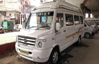Manali To Delhi Tempo Traveller Hire