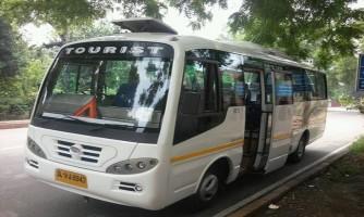 18+2 Seater Luxury Minibus Delhi