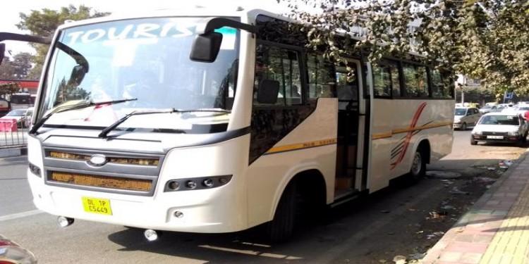 27 Seater Luxury Bus Hire Delhi
