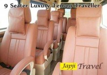 Travel by 9 Seater Traveller