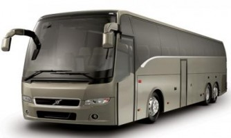 Luxury 35 Seater Volvo Bus Hire India